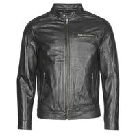 vaatteet Miehet Nahkatakit / Tekonahkatakit Selected SLHC01 Musta