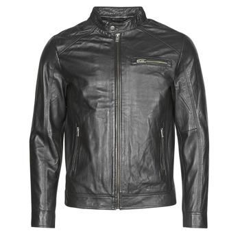 vaatteet Miehet Nahkatakit / Tekonahkatakit Selected SLHC01 Black