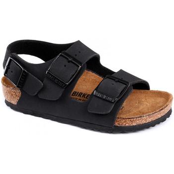 kengät Lapset Sandaalit ja avokkaat Birkenstock Milano bf Musta