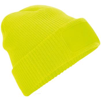 Asusteet / tarvikkeet Pipot Beechfield BB440 Fluorescent Yellow