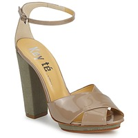 kengät Naiset Sandaalit ja avokkaat Keyté KRISTAL-26722-TAUPE-FLY-3 Taupe