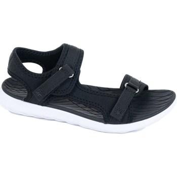 kengät Naiset Urheilusandaalit 4F H4L20 SAD001 Czarny Mustat