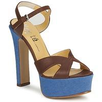kengät Naiset Sandaalit ja avokkaat Keyté CUBA-LUX-MARRONE-FLY-9 Ruskea
