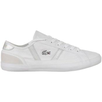kengät Naiset Matalavartiset tennarit Lacoste Sideline 216 1 Cfa Valkoiset
