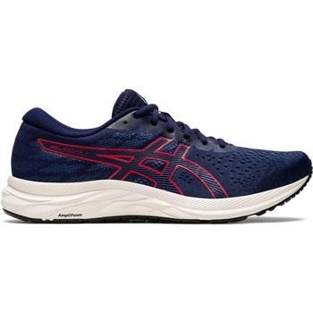 kengät Miehet Juoksukengät / Trail-kengät Asics Gel Excite 7 Valkoiset, Tummansininen