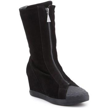 kengät Naiset Saappaat Geox D Eleni Mustat