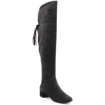 kengät Naiset Ylipolvensaappaat Geox D Ncarey Mustat