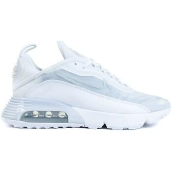 kengät Miehet Matalavartiset tennarit Nike Air Max 2090 Valkoiset,Harmaat