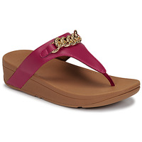 kengät Naiset Sandaalit ja avokkaat FitFlop LOTTIE CHAIN TOE-THONGS Fuksia