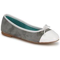 kengät Naiset Balleriinat Les Lolitas FELL Valkea-harmaa
