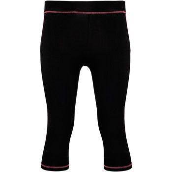 vaatteet Naiset Legginsit Tridri Tri Dri Black/ Hot Pink