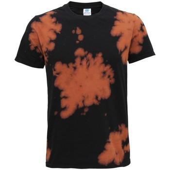 vaatteet Lyhythihainen t-paita Colortone TD09M Black