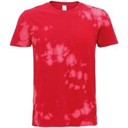 vaatteet Lyhythihainen t-paita Colortone TD09M Red