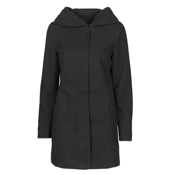 vaatteet Naiset Paksu takki Vero Moda VMDAFNEDORA Musta