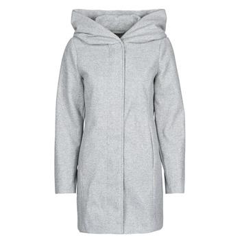 vaatteet Naiset Paksu takki Vero Moda VMDAFNEDORA Grey