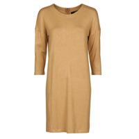 vaatteet Naiset Lyhyt mekko Vero Moda VMGLORY Camel