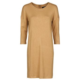 vaatteet Naiset Lyhyt mekko Vero Moda VMGLORY Kamelinruskea