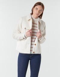 vaatteet Naiset Takit / Bleiserit Vero Moda VMCOZY Ecru