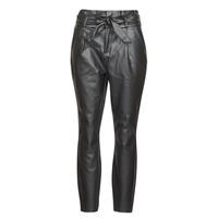 vaatteet Naiset Chino-housut / Porkkanahousut Vero Moda VMEVA Black