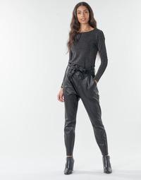 vaatteet Naiset Chino-housut / Porkkanahousut Vero Moda VMEVA Musta