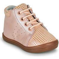 kengät Tytöt Korkeavartiset tennarit GBB NAHIA Vaaleanpunainen