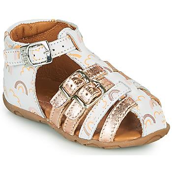 kengät Tytöt Sandaalit ja avokkaat GBB RIVIERA Valkoinen