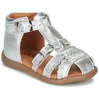 kengät Tytöt Sandaalit ja avokkaat GBB ALIDA Hopea