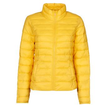 vaatteet Naiset Toppatakki Only ONLTAHOE Keltainen