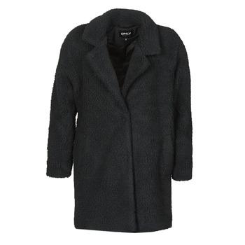 vaatteet Naiset Paksu takki Only ONLAURELIA Musta