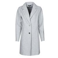vaatteet Naiset Paksu takki Only ONLCARRIE BONDED Harmaa