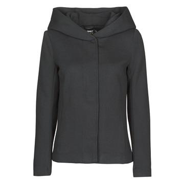 vaatteet Naiset Paksu takki Only ONLNEWSEDONA Musta