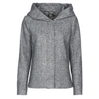 vaatteet Naiset Paksu takki Only ONLNEWSEDONA Grey