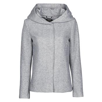 vaatteet Naiset Paksu takki Only ONLNEWSEDONA Harmaa