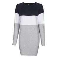 vaatteet Naiset Lyhyt mekko Only ONLLILLO Laivastonsininen / Valkoinen / Harmaa