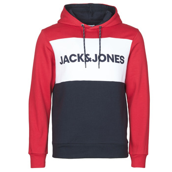 vaatteet Miehet Svetari Jack & Jones JJELOGO BLOCKING Red