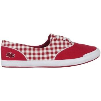 kengät Naiset Matalavartiset tennarit Lacoste Lancelle Lace 3 Eye 216 1 Spw Valkoiset, Punainen