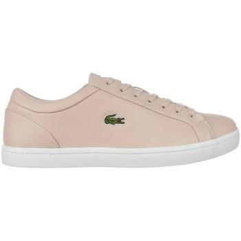 kengät Naiset Matalavartiset tennarit Lacoste Straightset Lace 317 3 Caw Beesit