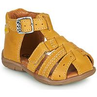 kengät Pojat Sandaalit ja avokkaat GBB ARIGO Keltainen
