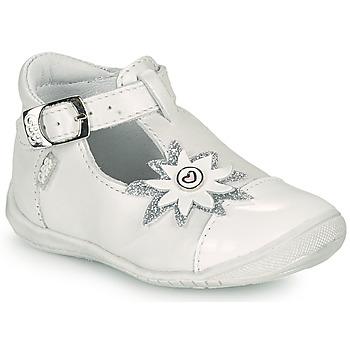kengät Tytöt Balleriinat GBB EFIRA Valkoinen
