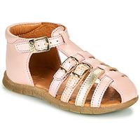 kengät Tytöt Sandaalit ja avokkaat GBB PERLE Vaaleanpunainen