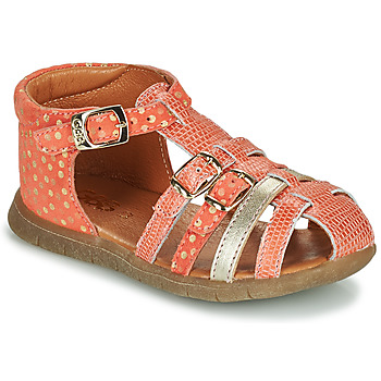 kengät Tytöt Sandaalit ja avokkaat GBB PERLE Koralli / Kulta