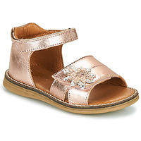 kengät Tytöt Sandaalit ja avokkaat GBB SATIA Kulta / Pink / Dpf