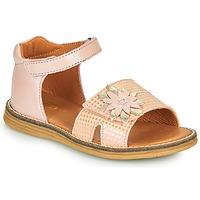 kengät Tytöt Sandaalit ja avokkaat GBB SATIA Pink / Dpf