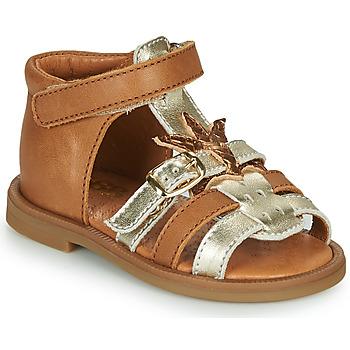kengät Tytöt Sandaalit ja avokkaat GBB CARETTE Ruskea