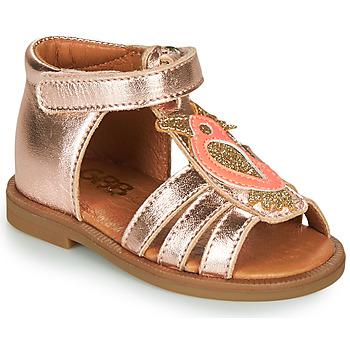 kengät Tytöt Sandaalit ja avokkaat GBB FRANIA Vaaleanpunainen / Kulta