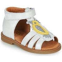 kengät Tytöt Sandaalit ja avokkaat GBB FRANIA Valkoinen