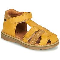 kengät Pojat Sandaalit ja avokkaat GBB MITRI Keltainen