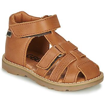 kengät Pojat Sandaalit ja avokkaat GBB MITRI Ruskea