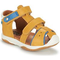 kengät Pojat Sandaalit ja avokkaat GBB EUZAK Keltainen