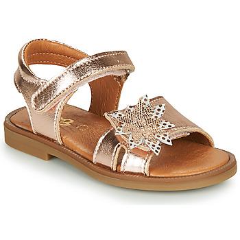 kengät Tytöt Sandaalit ja avokkaat GBB UPPLA Vaaleanpunainen / Kulta